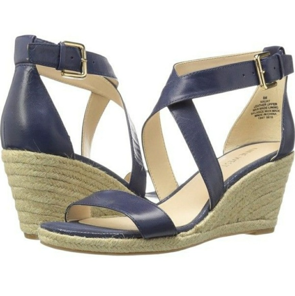 c9c705bdd2a Nwot. Nine West Jay strappy espadrille wedge